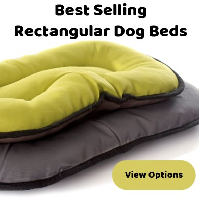Rectangle dog beds - best selling - wide range