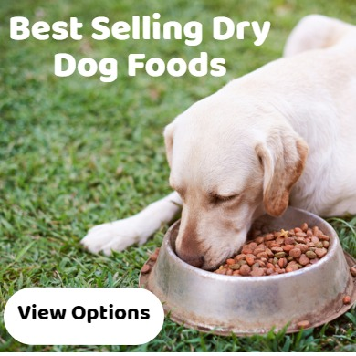 dry dog foods - best selling - wide range